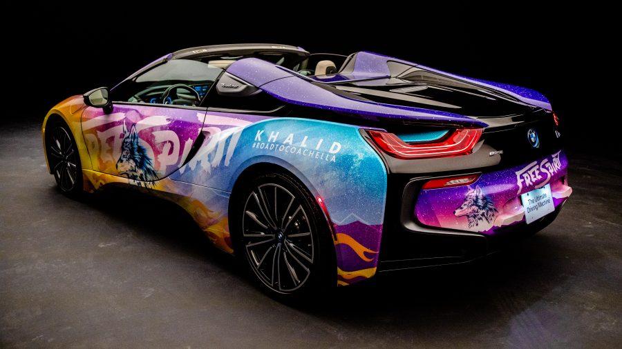 Carro elétrico da BMW personalizado
