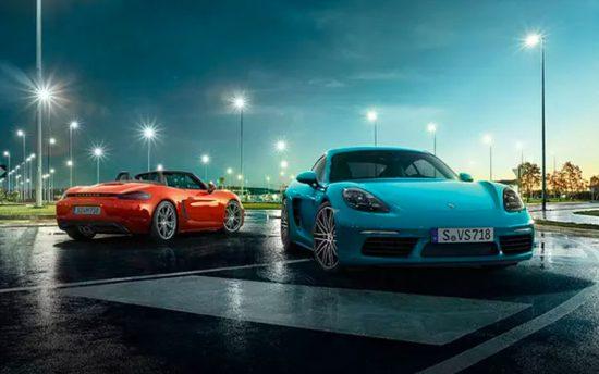 Porsche 718 Cayman: potência e diversão
