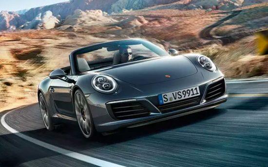 Porsche 911 Carrera Cabriolet é um conversível de respeito