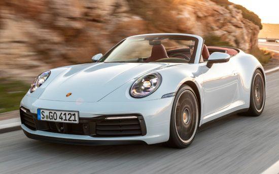 Novo Porsche 911 Carrera Cabriolet tem exclusiva capota conversível