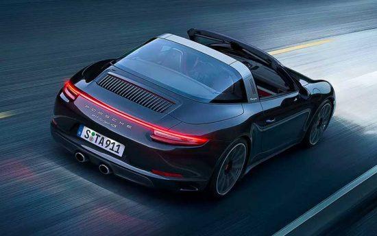Porsche 911 Targa 4S traz as maiores qualidades de um esportivo