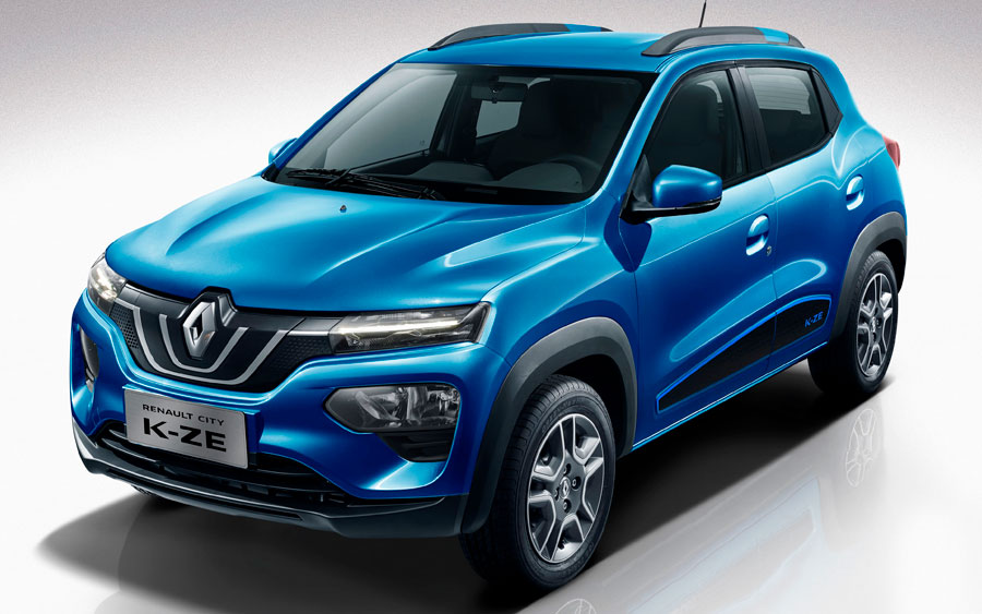 Renault City K-ZE, novo carro elétrico com cara de Kwid é apresentado em Xangai