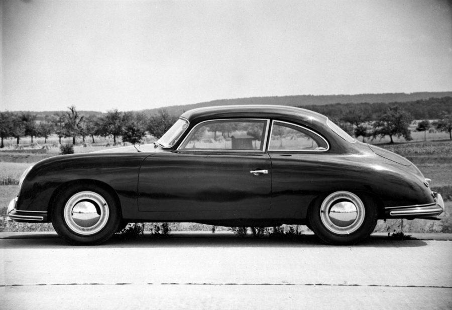 Prototipo quatro-lugares dos anos 50: Type 530 baseado no Type 356