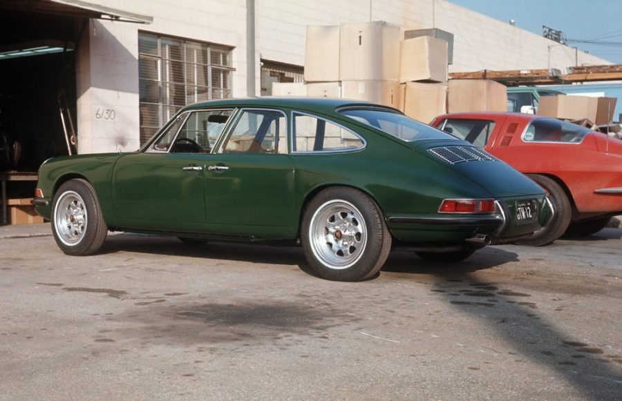 Prototipo quatro-lugares dos anos 60 baseado no 911 S