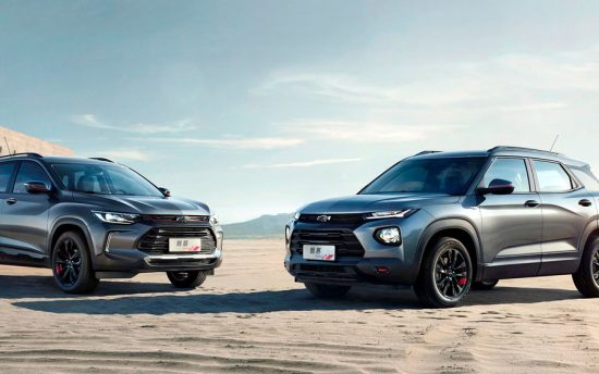 Conheça os novos SUVs Chevrolet: Trailblazer e Tracker 2020 foram apresentados na China