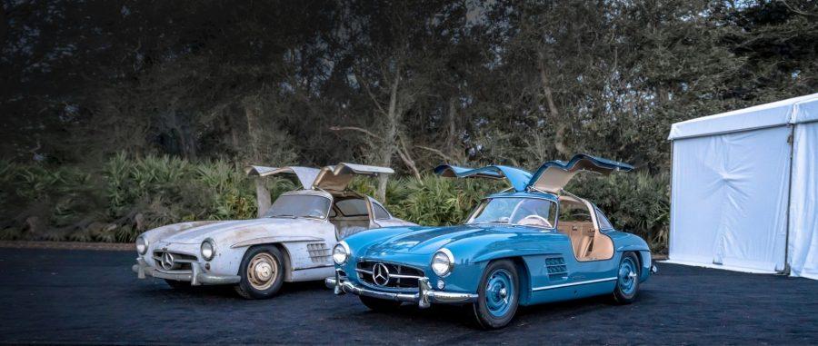 Mercedes Asa de Gaivota restaurada