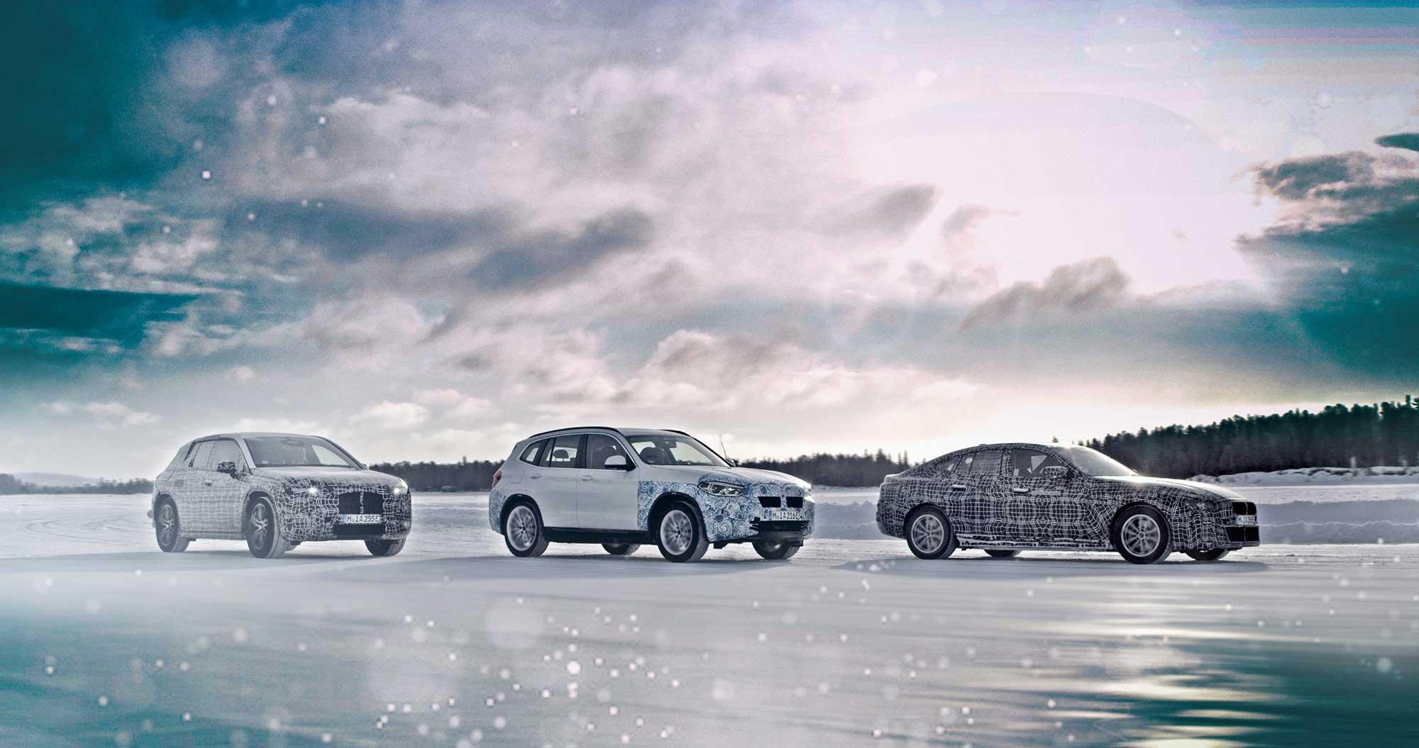 Futura geração elétrica BMW
