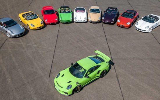 Porsche entrega 55.700 veículos no primeiro trimestre de 2019