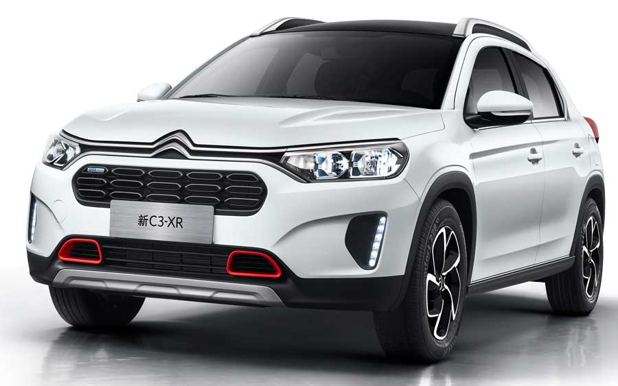 SUV Citroen C3 XR é destaque na China