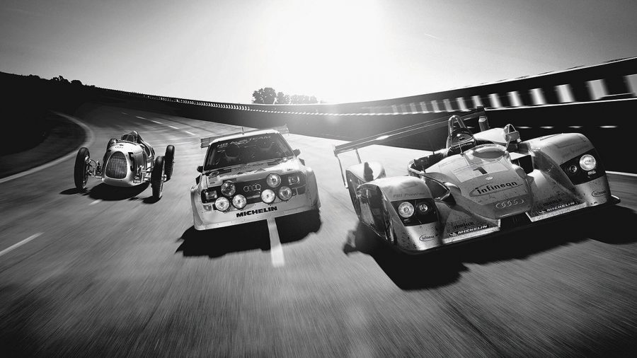 Quattro nas corridas