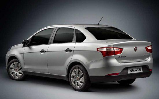 Novo Fiat Grand Siena Flex chega preparado para receber kit GNV