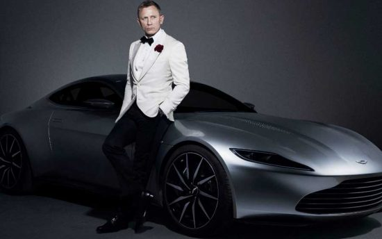 Aston Martin Rapid E: o novo carro elétrico do James Bond