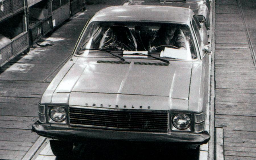 A história da Chevrolet no Brasil
