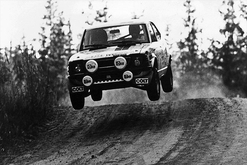 O Corolla  conquistou o 1,000 Lakes Rally