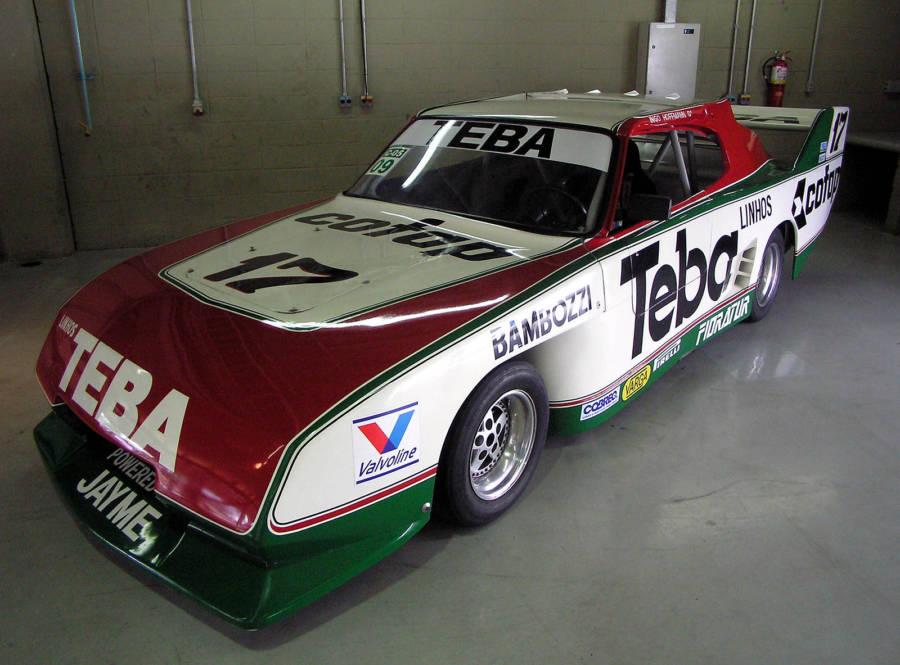 Opala 1988 ss usado em competições de Stock Car Brasil (foto: Morio / wikimedia)
