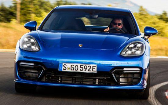 10 anos do Porsche Panamera
