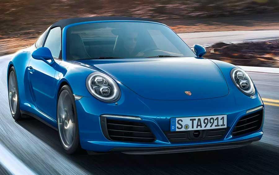Porsche 911 Targa 4 é cheio de estilo e esportividade
