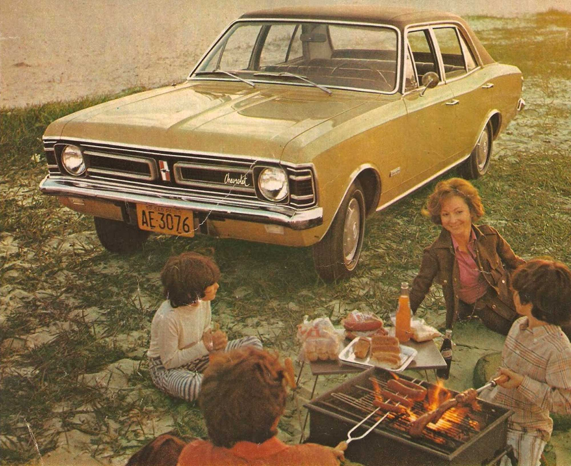 Propaganda Opala De Luxo 1972
