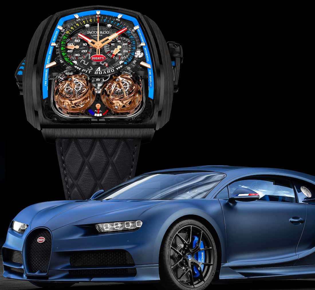 Jacob & Co. Twin Turbo Furious Bugatti Edition