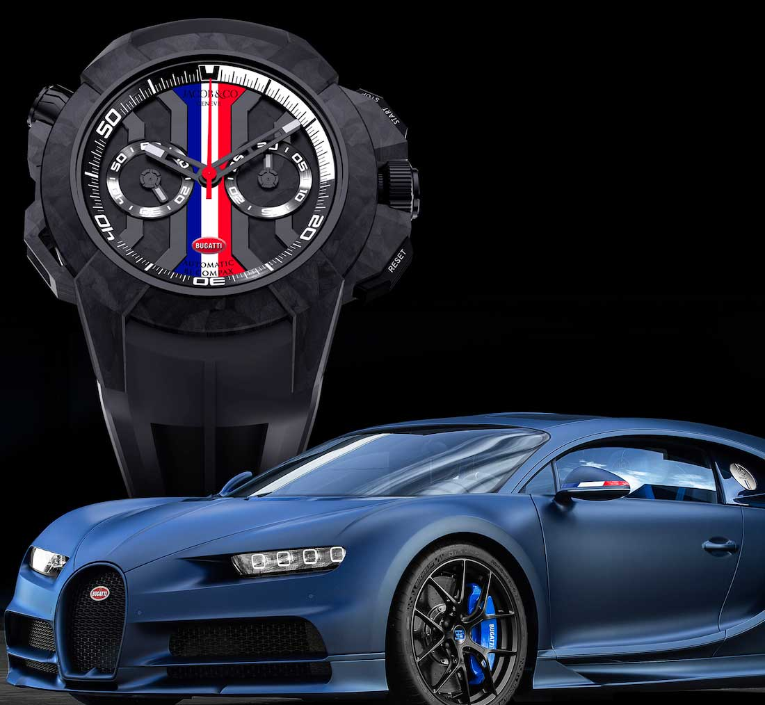 Jacob & Co. Epic X Chrono 'Bugatti 110 Years Limited Edition'