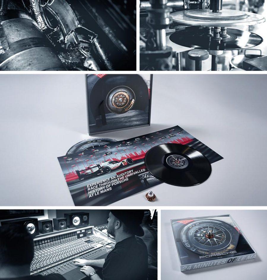Disco de vinil Porsche