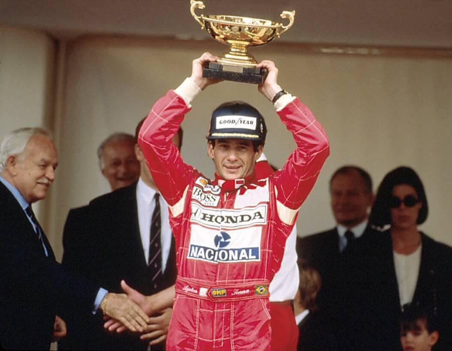 Senna venceu o Grande Prêmio de Mônaco de 1992 em seu McLaren MP4/7A (foto: Instituto Ayrton Senna)