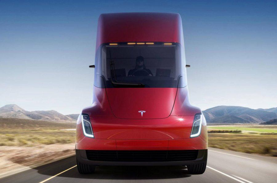 Caminhão elétrico da Tesla