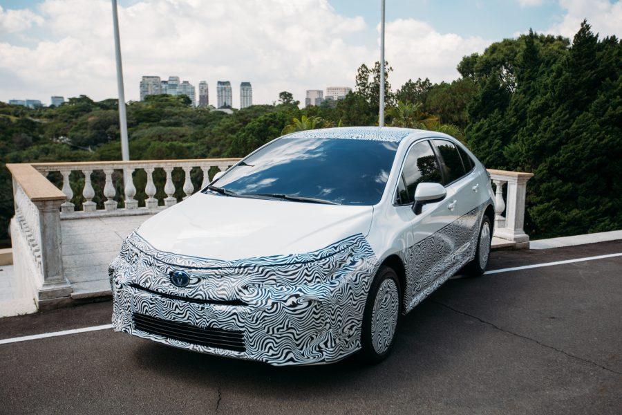 Novo Corolla com motor híbrido flex será o carro a etanol mais eficiente do País e o híbrido mais limpo do mundo