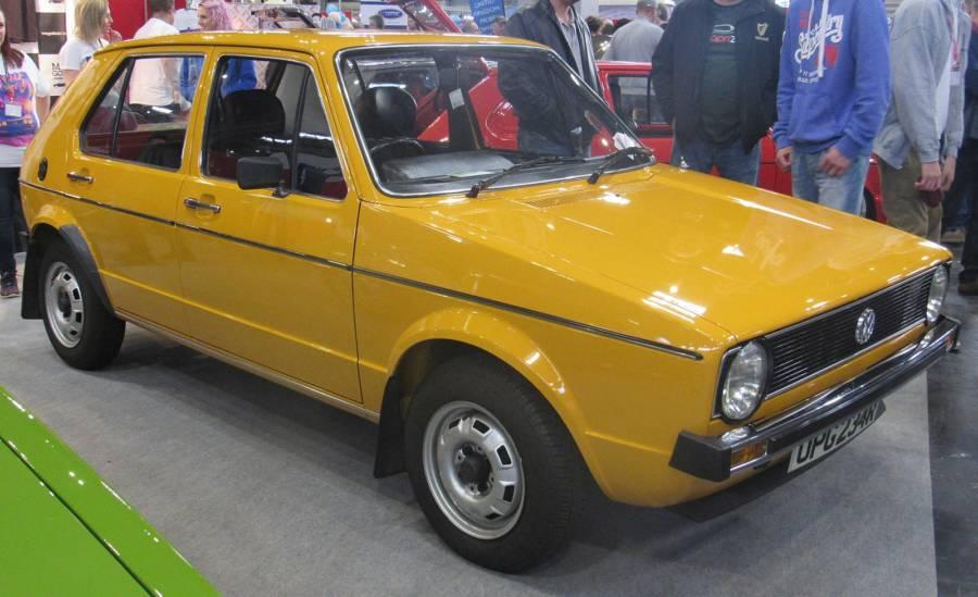 Volkswagen Golf MK I de 1976 (foto: Vauxford / Wikimedia)