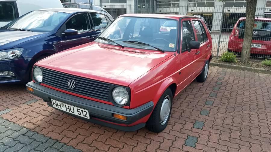 Volkswagen Golf MK II de 1987 (foto: Matchboxler / Wikimedia)