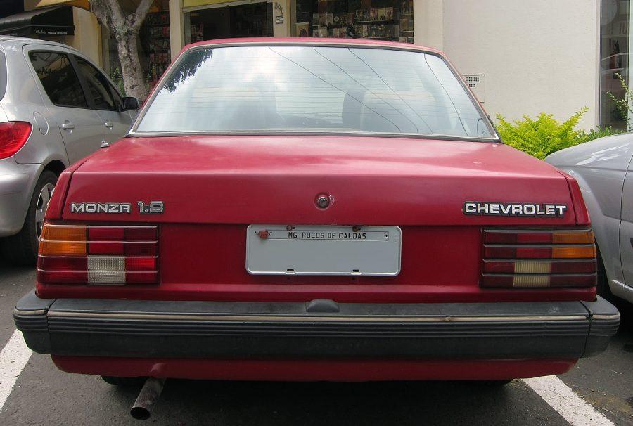 Chevrolet Monza 1.8 (foto; Mr.choppers / wikimedia)