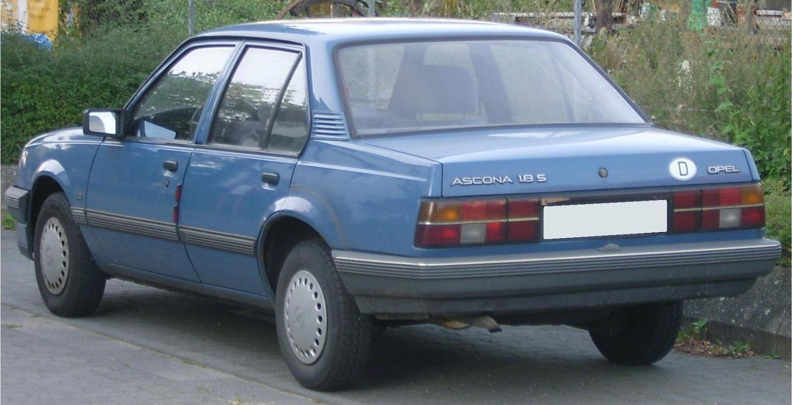 Opel Ascona (foto: Automodeller / wikimedia)