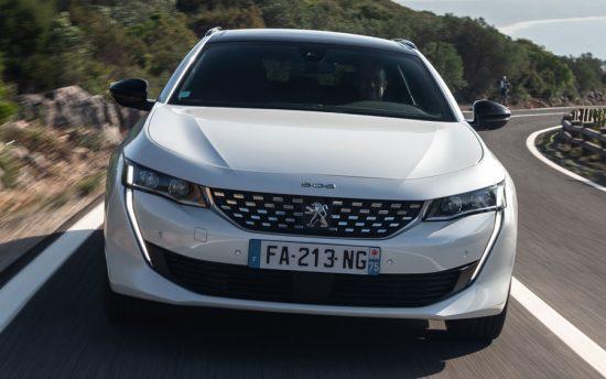 Novo Peugeot 508 SW é apresentado na Europa