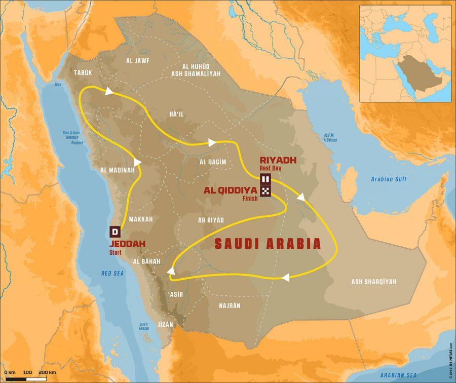 Rally Dakar será na Arábia Saudita em 2020