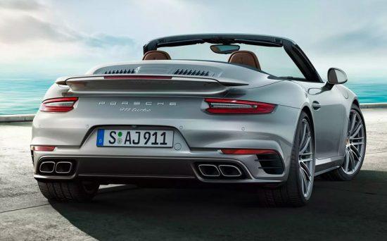 Porsche 911 Turbo Cabriolet oferece potência e luxo