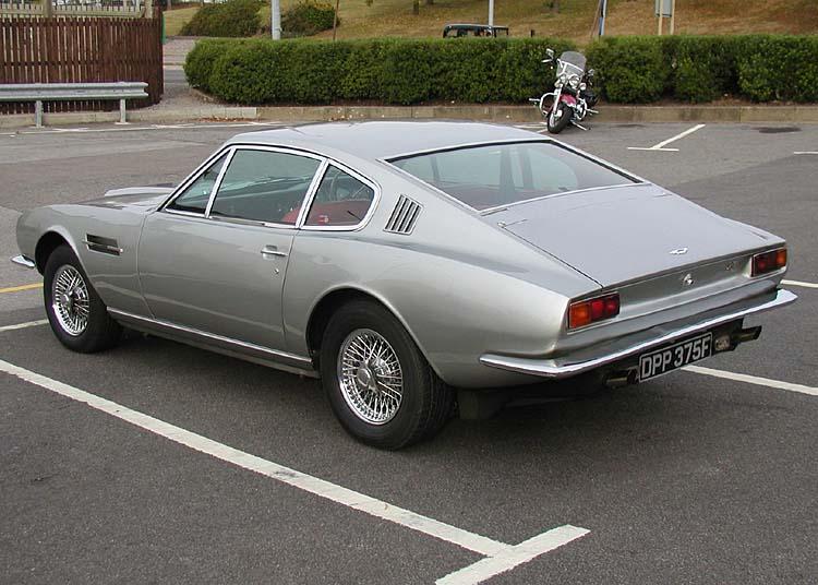 Aston Martin Vantage - 1972–1973