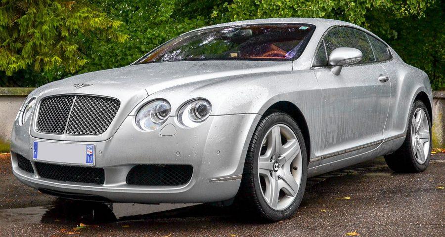 Bentley Continental GT - Primeira geração (foto: Alexandre Prévot / wikimedia)
