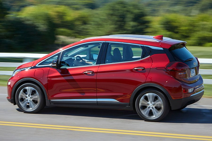 Chevrolet Bolt EV é 100% elétrico
