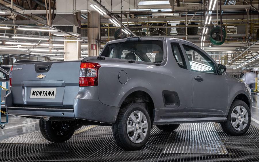 Chevrolet Montana 2020 marca a picape número 750 mil