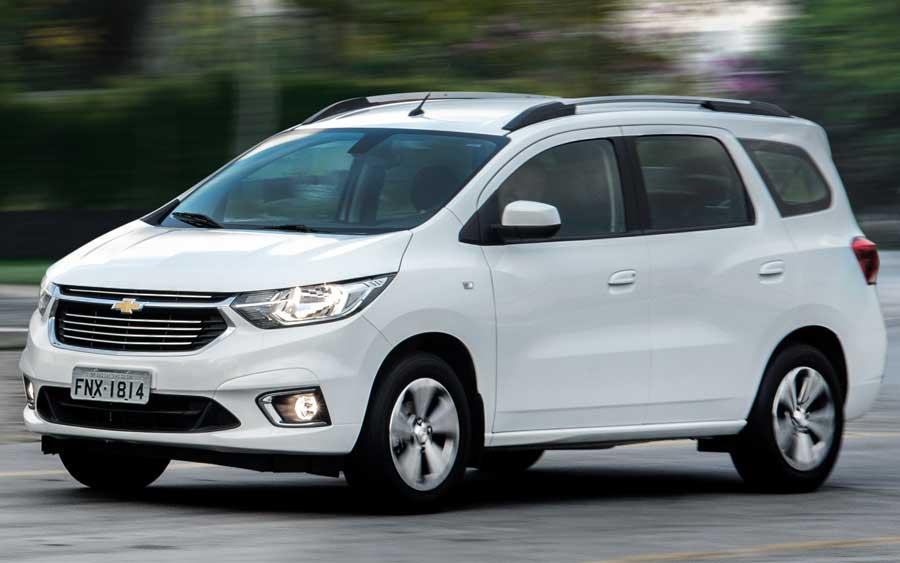 Chevrolet Spin 2020 tem nova versão Premier