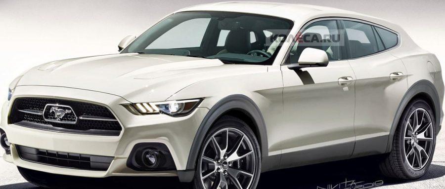 SUV elétrico baseado no Ford Mustang