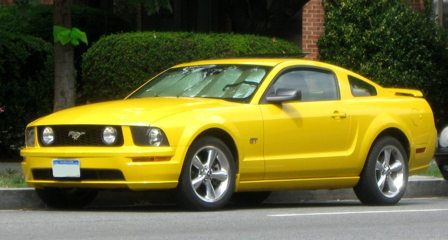 Ford Mustang GT (IFCAR / wikimedia)