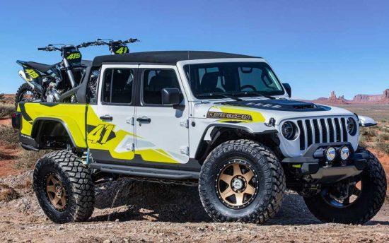 Vídeo mostra Jeep Gladiator preparado para encarar todo tipo de desafio