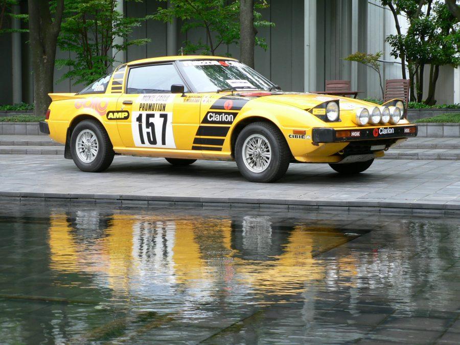 Mazda RX-7 versão rally (foto: 160SX / wikimedia)