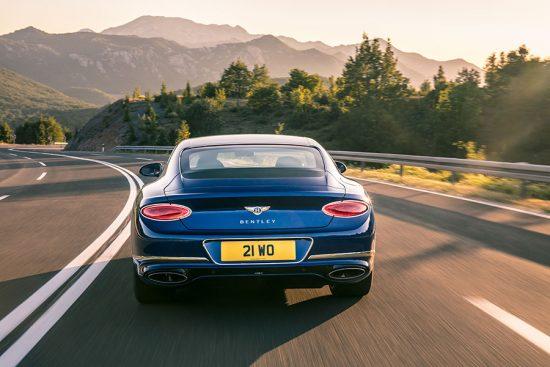 Luxo e muito poder com o Bentley Continental GT W12