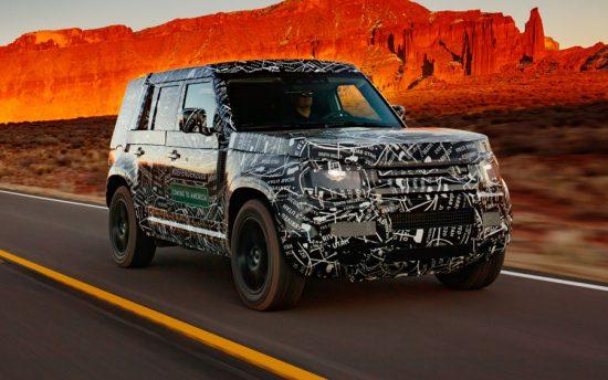 Novo Land Rover Defender volta às raízes