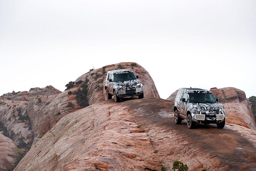 Novo Land Rover Defender