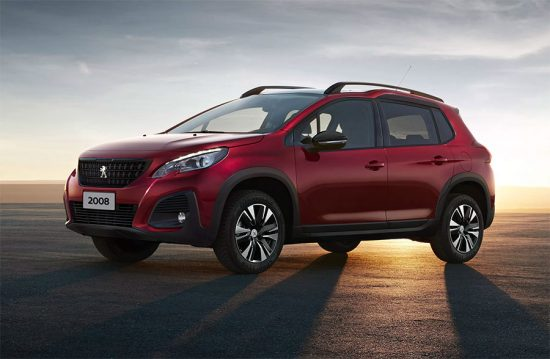 Novo SUV Peugeot 2008 está mais esportivo