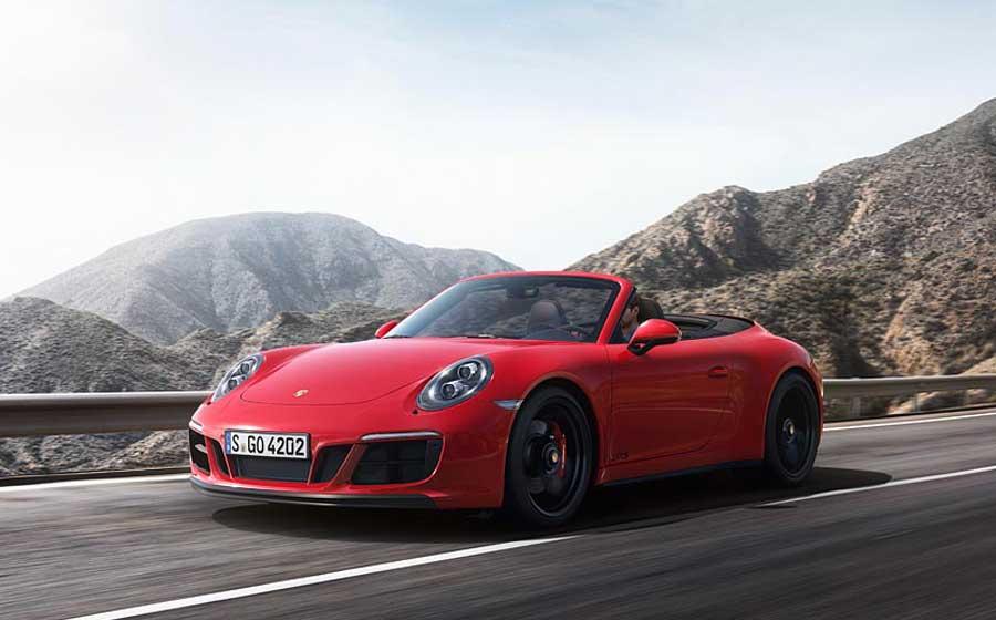 Porsche 911 Carrera 4 GTS Cabriolet oferece toda a aventura e esportividade que você deseja