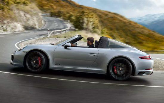 Porsche 911 Targa 4 GTS é perfeito para aliar o luxo à esportividade